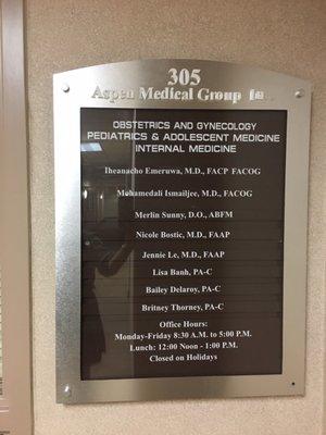 Aspen Medical Group 9041 Magnolia Ave Ste 305 Riverside Ca Nursing