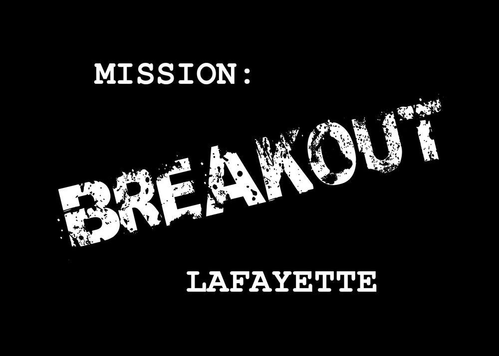 Mission: Breakout Lafayette: 325 S Earl Ave, Lafayette, IN