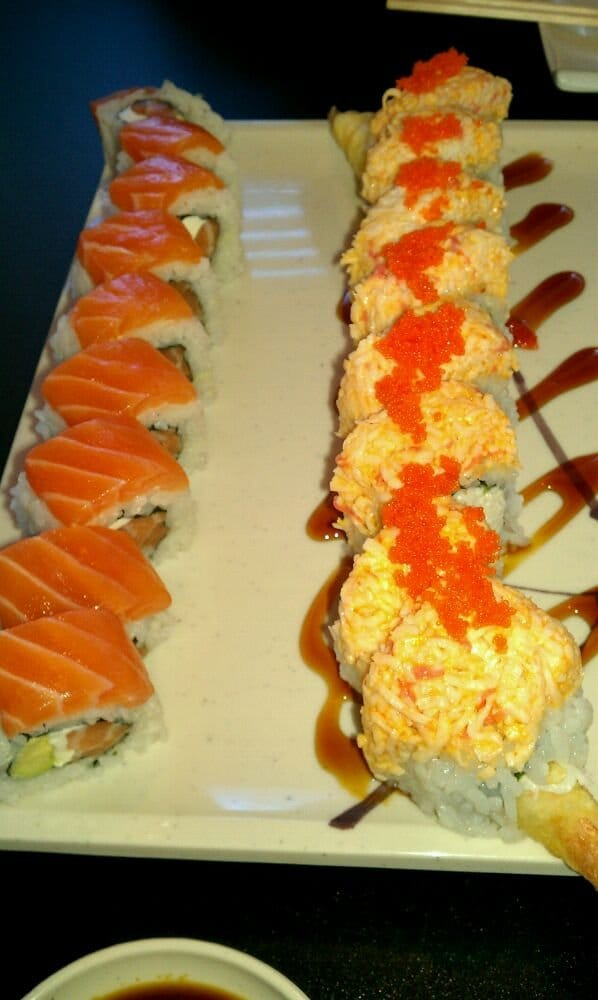Left super philly right tiger roll yelp for Fat fish san leandro