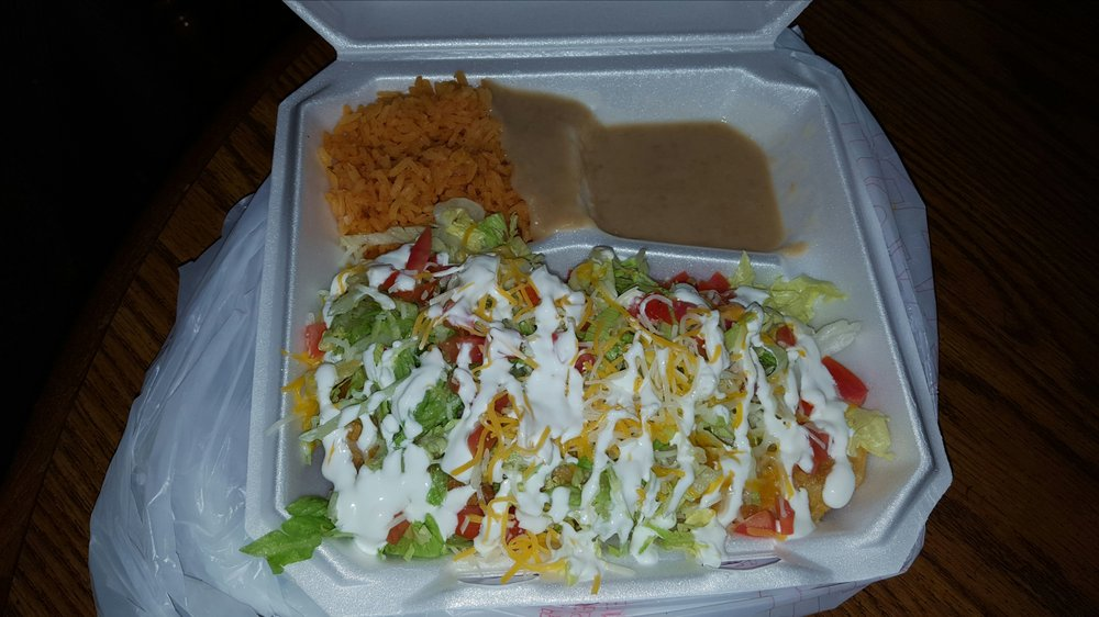 Food from La Salsita