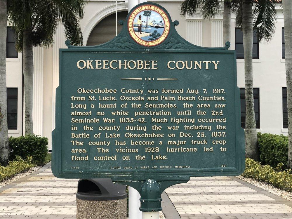 Okeechobee-County of: 312 NW 3rd St, Okeechobee, FL