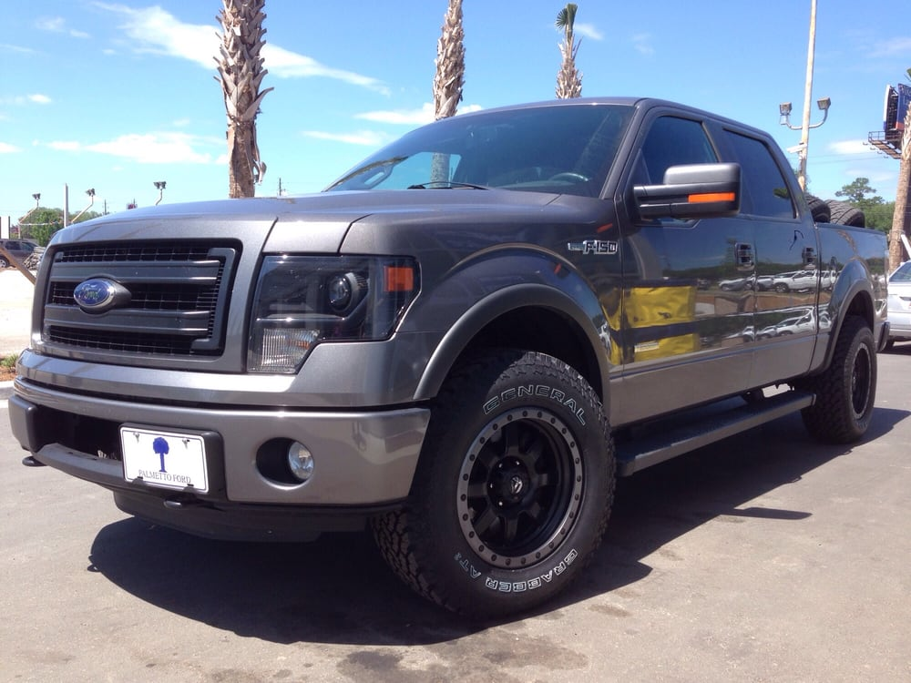 2013 F150 Fx4 With 275 70 18 General Grabber At2 And Fuel
