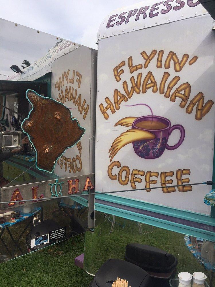 Flyin' Hawaiian Coffee: 95-5668 State Hwy 11, Naalehu, HI