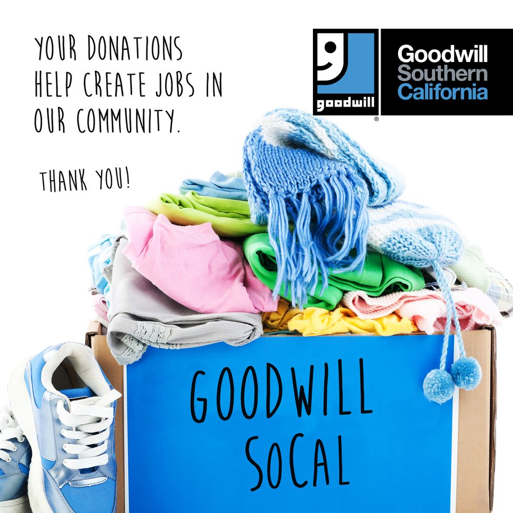 Goodwill Southern California Donation Center: 8996 Huntington Dr, San Gabriel, CA