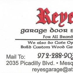 Photo of Reyes Garage Door Service - Mesquite TX United States  sc 1 st  Yelp & Reyes Garage Door Service - Garage Door Services - 2035 Picadilly ... pezcame.com