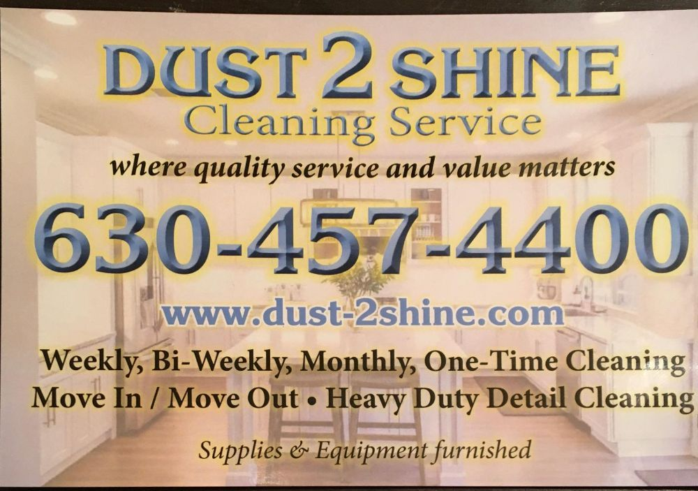Dust 2 Shine Cleaning Solutions: Elwood, IL