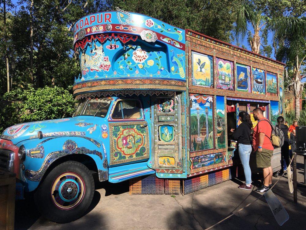 Anandapur Ice Cream Truck: Lake Buena Vista, FL