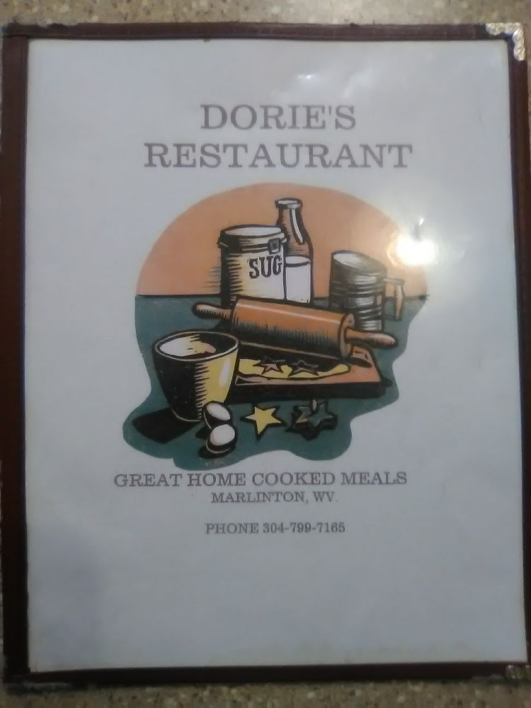 Dories Restaurant: 828 2nd Ave, Marlinton, WV