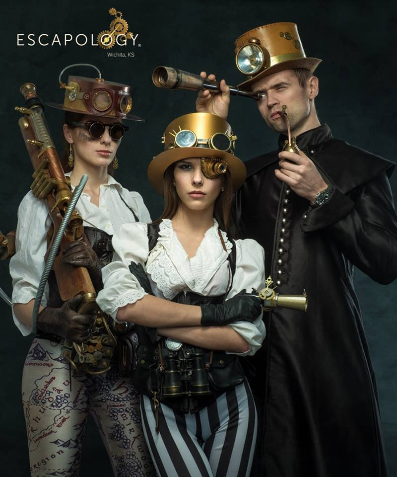 Escapology Escape Rooms Wichita: 11412 E 13th St N, Wichita, KS
