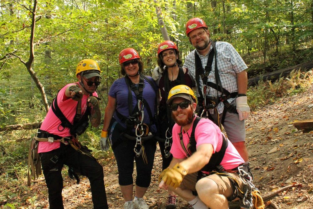 Tree Frog Canopy Tours: 21899 Wally Rd, Glenmont, OH