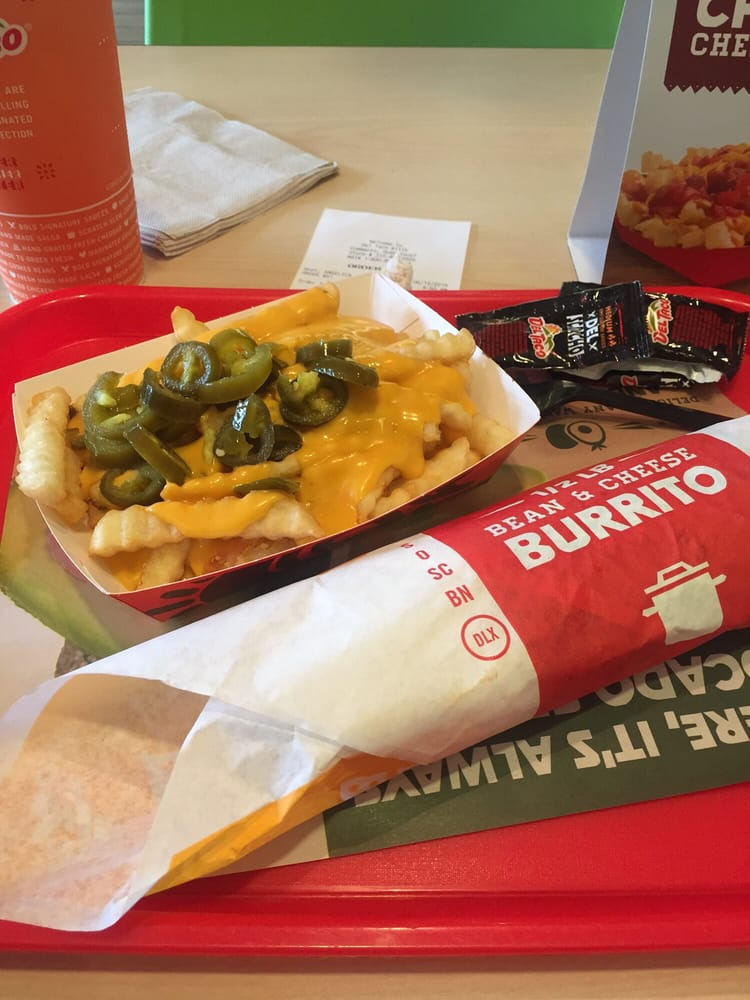 Bean And Cheese Burrito Del Taco Nacho cheese fr...