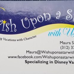 Wish upon a star with maura travel agents woodridge il phone photo of wish upon a star with maura woodridge il united states my business card reheart Image collections