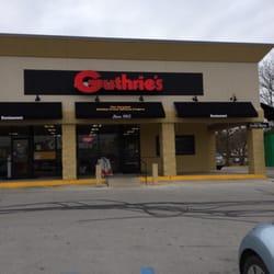 Guthrie S Restaurant Trenton Ga