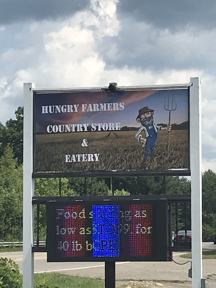 Hungry Farmers Country Store & Eatery: 15397 Fancy Gap Hwy, Cana, VA