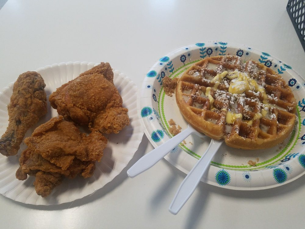 Food from The Waffle Den
