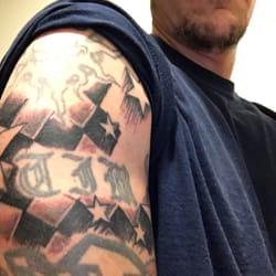 724019b7a5ee7 Photo of Black Lantern Tattoo - Phoenix, AZ, United States. 12 checkers and