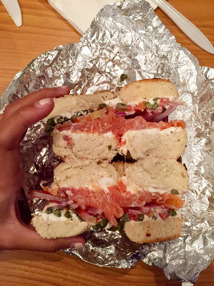 Bagel Street Deli: 27 S Court St, Athens, OH