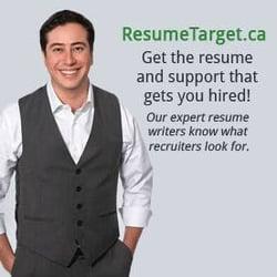 resume target professional services 666 burrard street