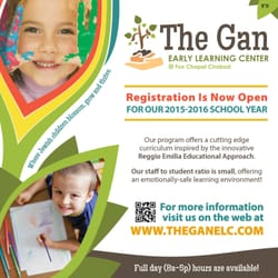 The Gan Early Learning Center Preschools 1343 Old Freeport Rd