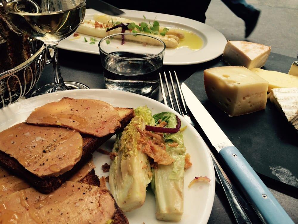 Foie gras de canard mi cuit avec confiture du citron 16 yelp - Le comptoir du relais restaurant reservations ...