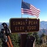 Sunday Peak Trail: Portuguese Pass, CA