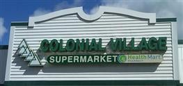 Colonial Village Pharmacy-Supermarket: 54 Park Ave Plz, Contoocook, NH