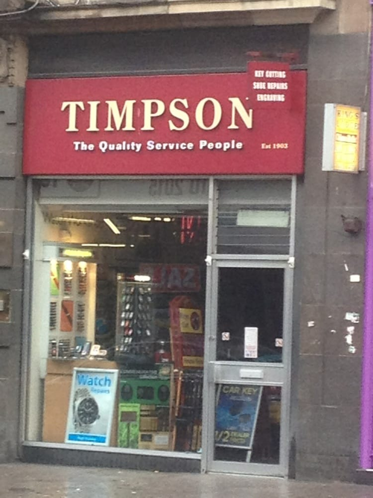 Shoe Repair Glasgow City Centre