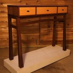 photo of joseph murphy furniture maker madison wi united states console table