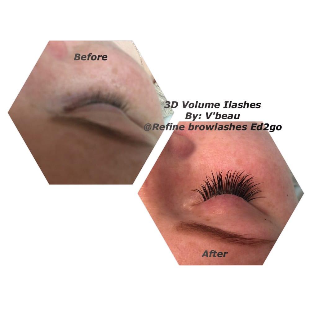 3D volume Individual eyelash extension..last up to 2months!!! @Davi ...