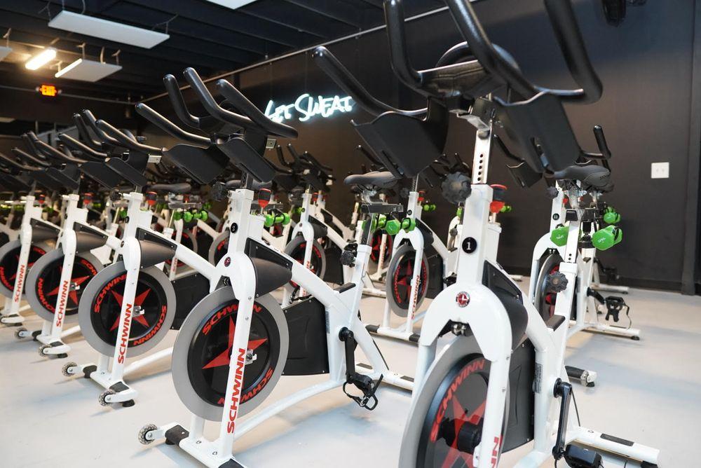 Get Sweat Heated Spin Studio