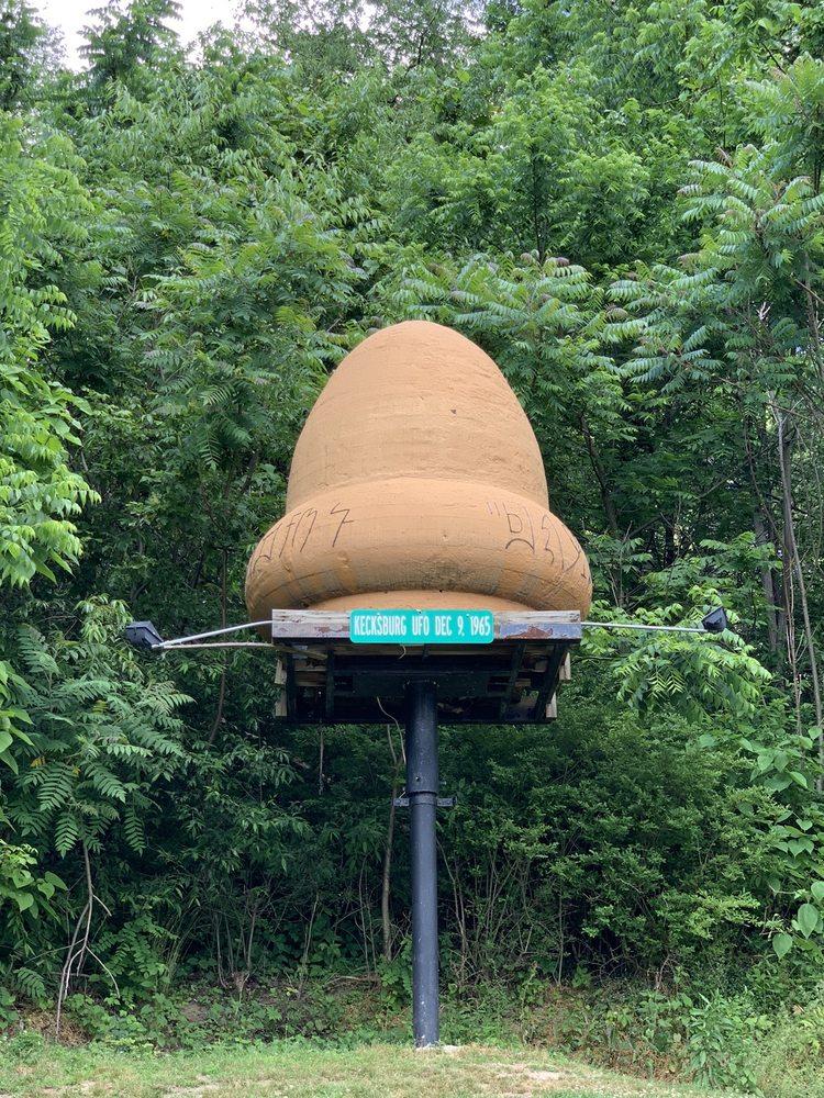 Kecksburgh UFO: 5128 Water St, Mount Pleasant, PA