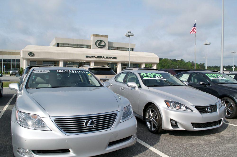 Butler Lexus Macon Ga >> Butler Lexus Car Dealers 4550 Riverside Dr Macon Ga