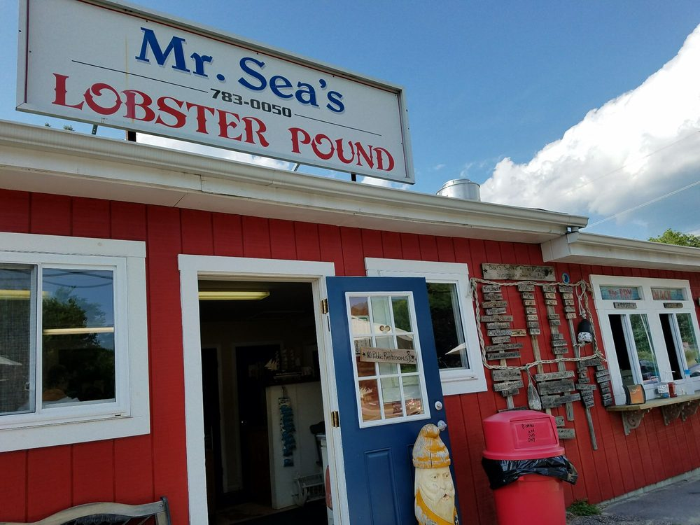 Food from Mr Sea's Lobster Pound