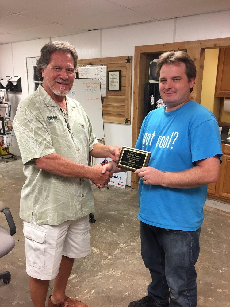 Evans Air Conditioning & Heating: 3484 Fm 2813, Flint, TX