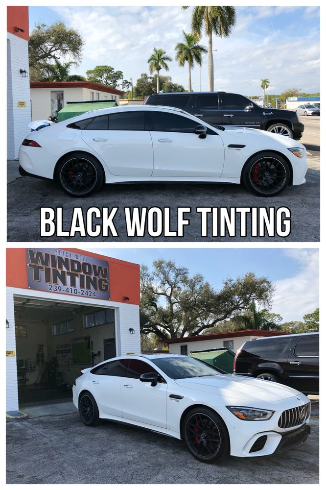 Black Wolf Tinting: 1237 N Tamiami Trl, North Fort Myers, FL