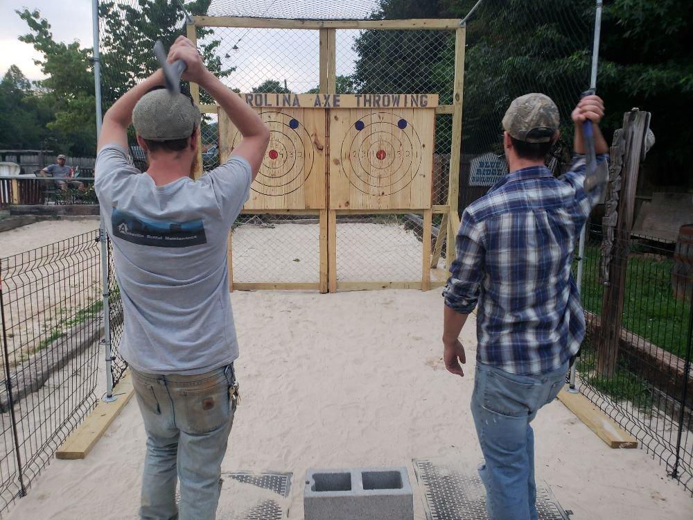 Carolina Axe Throwing: Asheville, NC