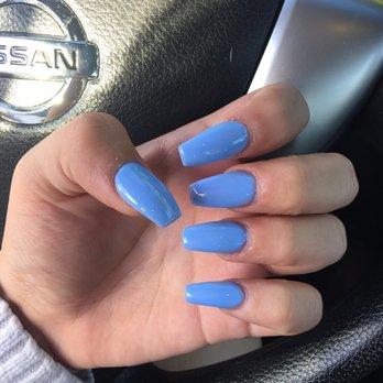 Photo Of Diamond Nails Fullerton Ca United States Full Set Gel Manicure