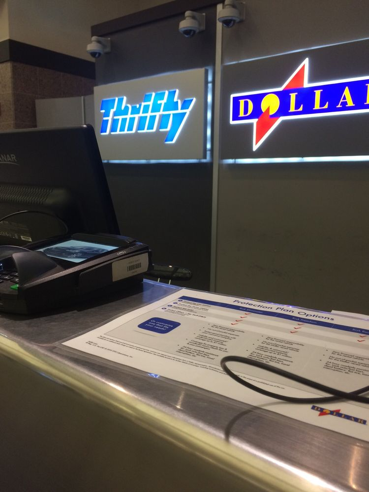 Thrifty Car Rental: 6701 Convair Rd, EL PASO AP, TX