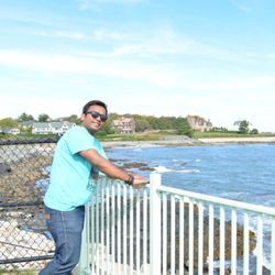 Photo of Cliff Walk - Newport, RI, United States. Cliff Walk-Sanju