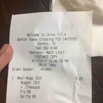 Photo Of Chick Fil A Denton Tx United States Charged