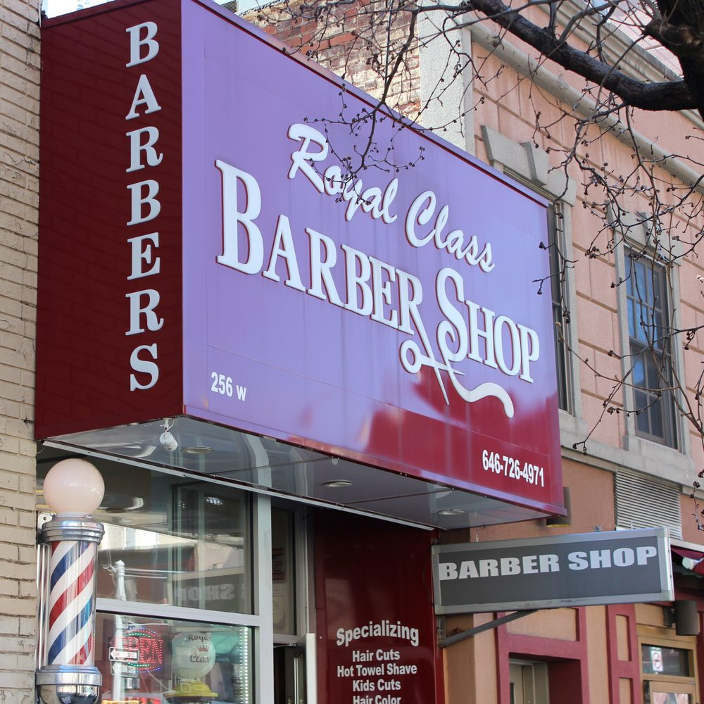 Royal Class Barber Shop: 256 W 20th St, New York, NY