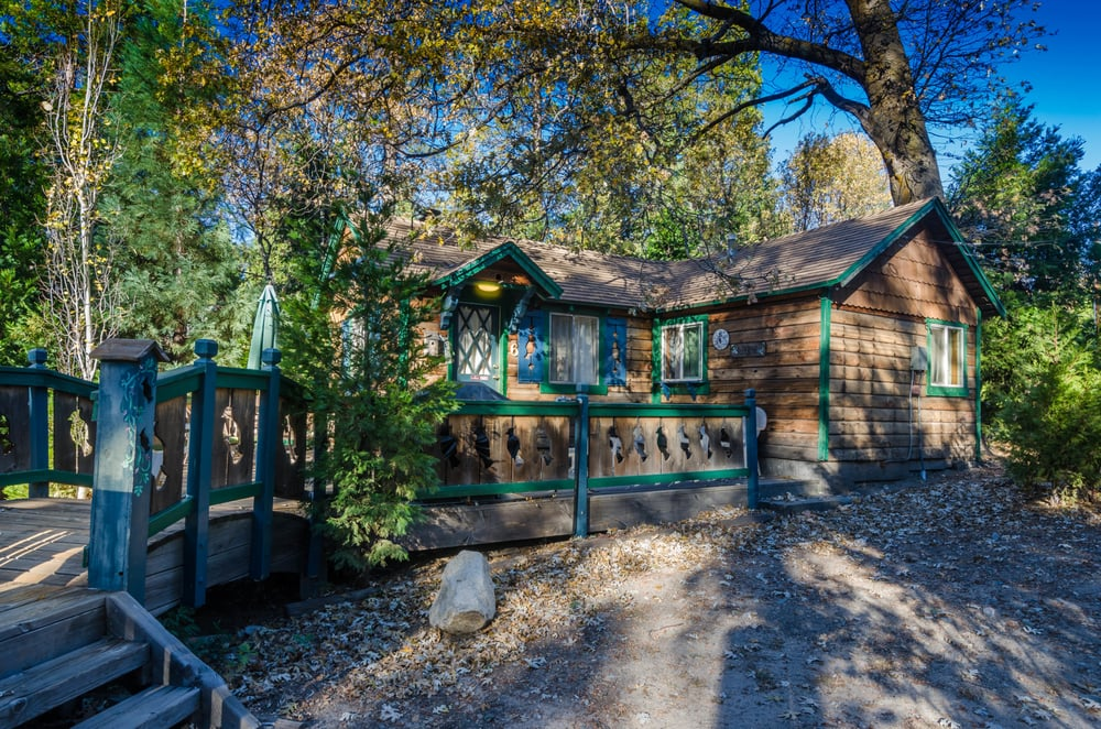 lake arrowhead cozy cabin rental blue jay cabin at
