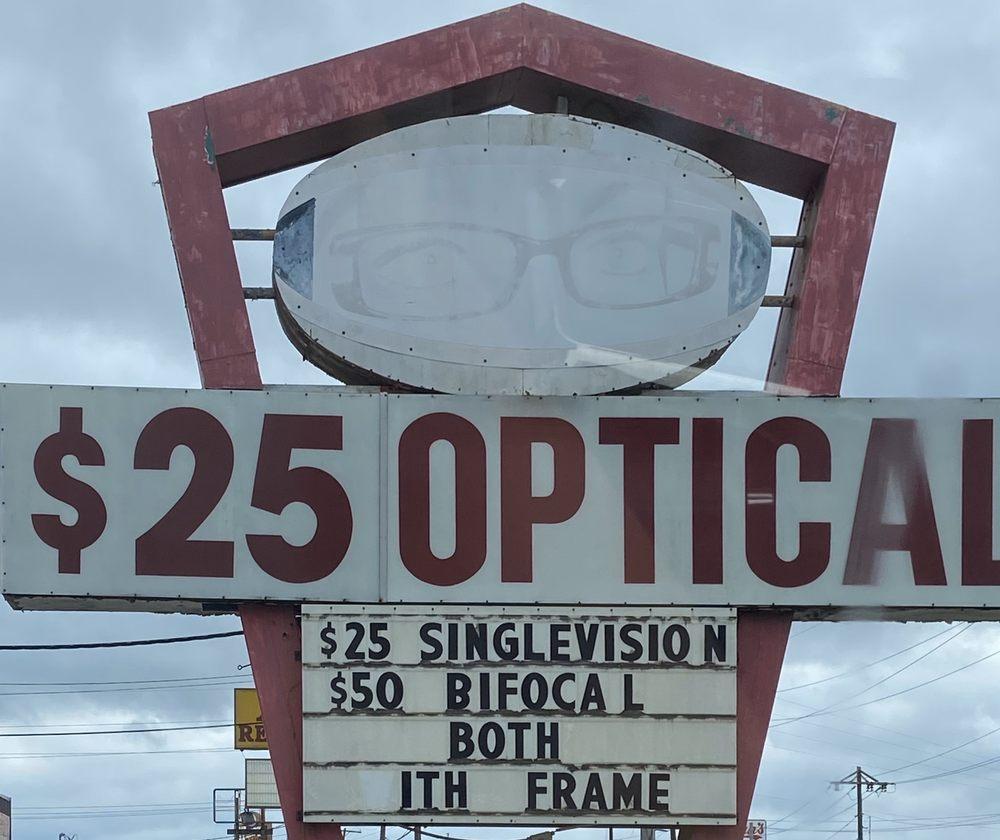 Twenty Five Dollar Optical: 545 S 11th St, Beaumont, TX