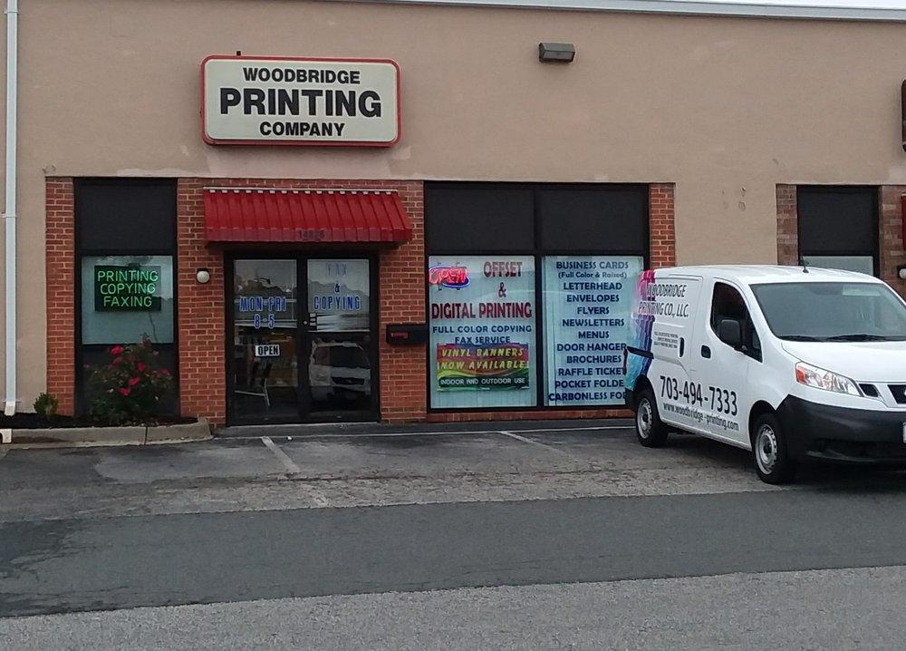 Woodbridge Printing: 14826 Build America Dr, Woodbridge, VA