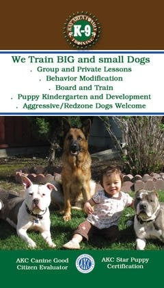 Bay Area Family K-9 Training: 37401 Glenmoor Dr, Fremont, CA