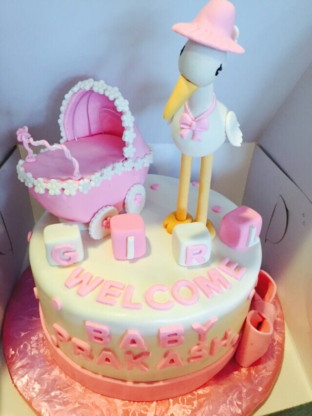 Baby Shower Cake From Victoria It Was A Huge Success Yelp