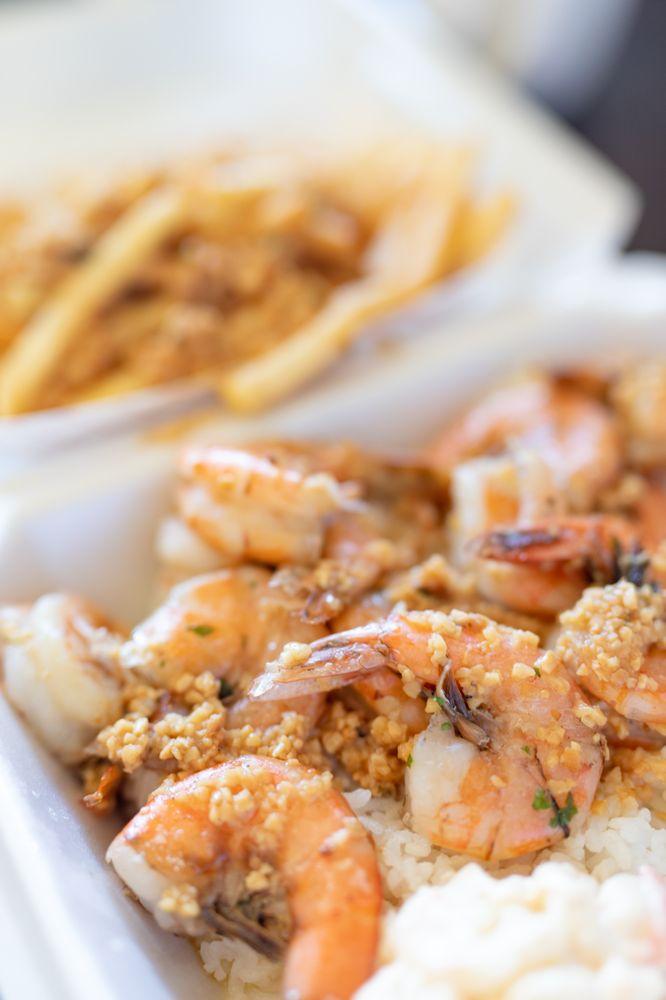 Ono Steaks and Shrimp Shack: 41-037 Wailea St, Waimanalo, HI