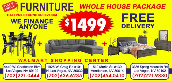 Half Price Furniture Henderson 510 Marks St Henderson, NV Furniture Stores    MapQuest