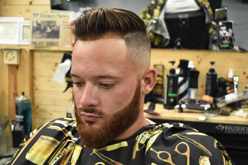 Gentlemans Haircut With Beard Trim Straight Razor Shave