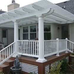 Photo Of Outdoor Designers   Chesapeake, VA, United States. Pergola Over  Composite Deck
